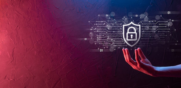 Biznes człowiek hiold, użyj, naciśnij ikonę infografikę społeczności technologii cyfrowej. koncepcja hi tech i big data. globalne połączenie.iot internet rzeczy . sieć teleinformatyczna teleinformatyczna .