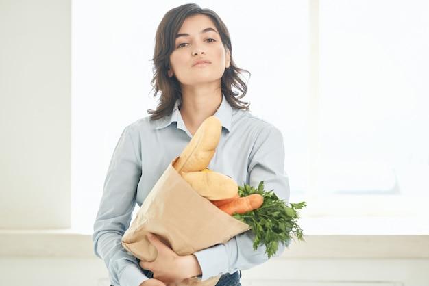 Biznes kobieta w garniturze kierownika sekretarka pracy biurowej professional