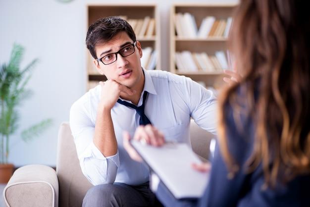Biznesmen o psychoterapii