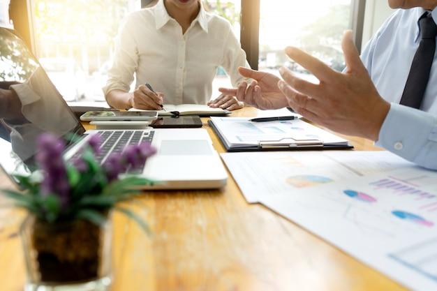 Biznesmen spotkanie biznesowe