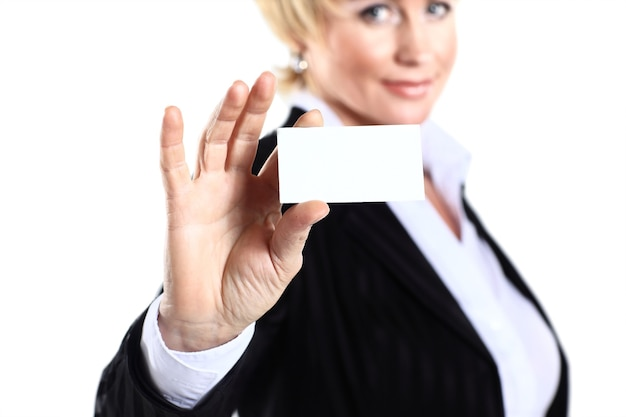 Biznesowa kobieta po czterdziestce