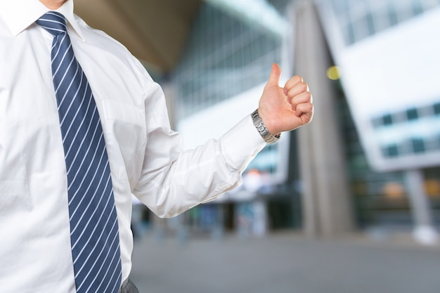Biznesowa ręka