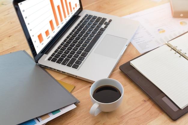 Biznesowy pojęcie biurowy działanie, biznesowy tło