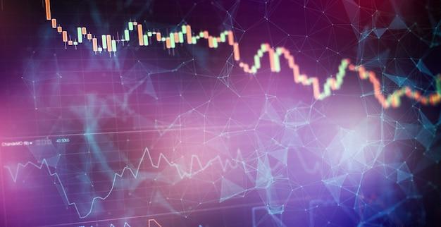 Biznesplan na spotkaniu i analiza liczb finansowych, aby zobaczyć wyniki firmy na giełdzie.