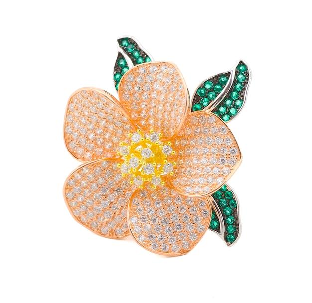 Biżuteria z indiańskiego srebrnego pierścienia