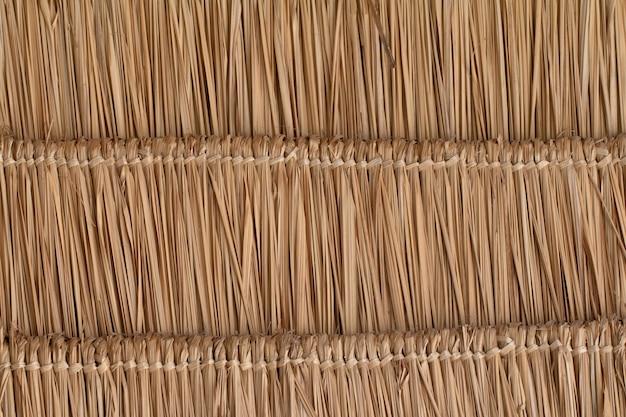 Blady trawy dokonane naturalnych dachu streszczenie tle