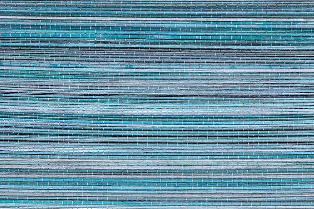 Błękitna drewniana tekstura lub tło