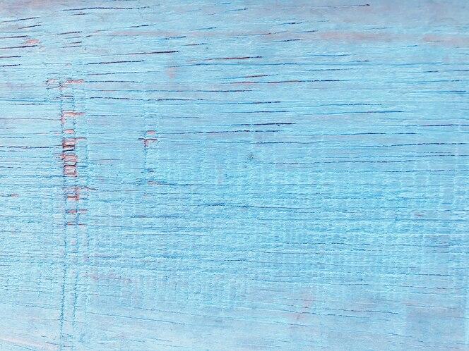 Błękitna drewniana tekstury tła powierzchnia.