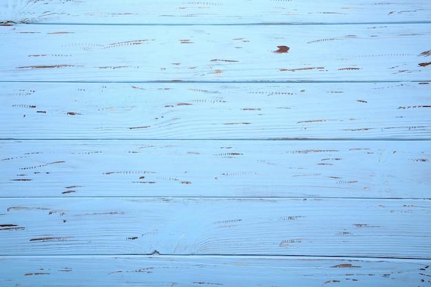 Błękitna drewniana tła lub drewna tekstura, drewniana deska