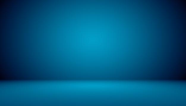 Błękitnego gradientowego abstrakcjonistycznego tła pusty pokój