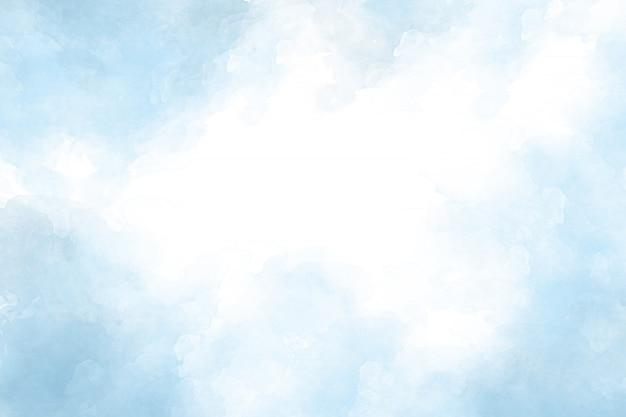 Błękitny akwareli abstrakta tło