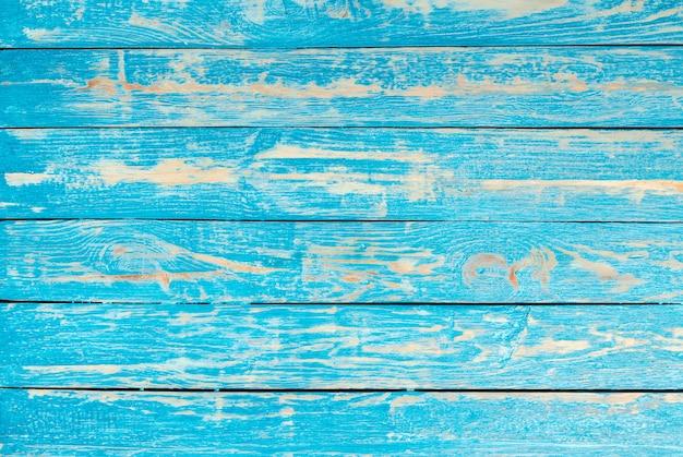 Błękitny drewniany ścienny bacground