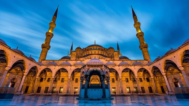Błękitny meczet w istanbuł, turcja