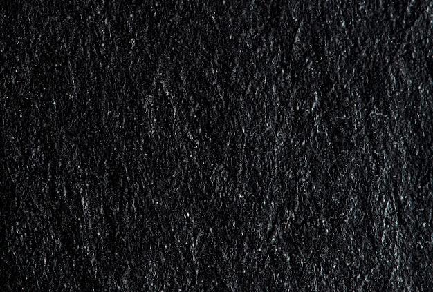 Bliska grunge i zmięty czarny papier