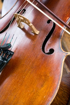 Bliska instrument wiolonczela