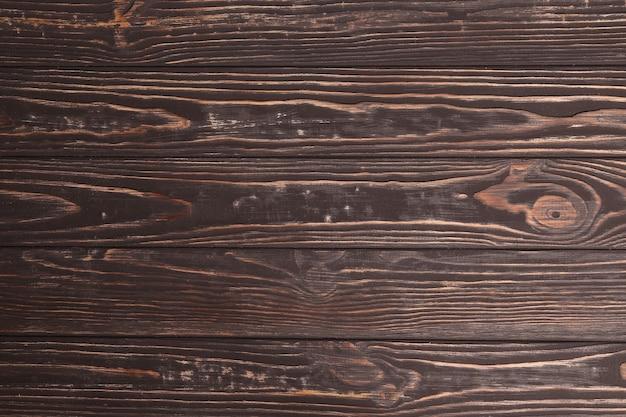 Bliska miękkiej podłogi z drewna stołu z naturalnym wzorem tekstury. pusta tablica drewniana może być używana jako tło do wyświetlania lub montażu produktów z widokiem z góry.