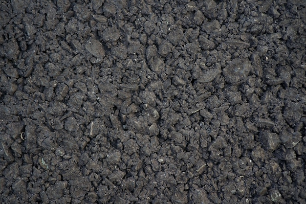 Bliska pełnej klatki zdjęcia czarna podłoga asfaltowa drogi tekstura tła