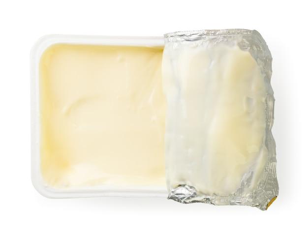 Bliska przetworzony ser w opakowaniu