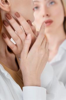 Bliska rozmyte relacje kobiet