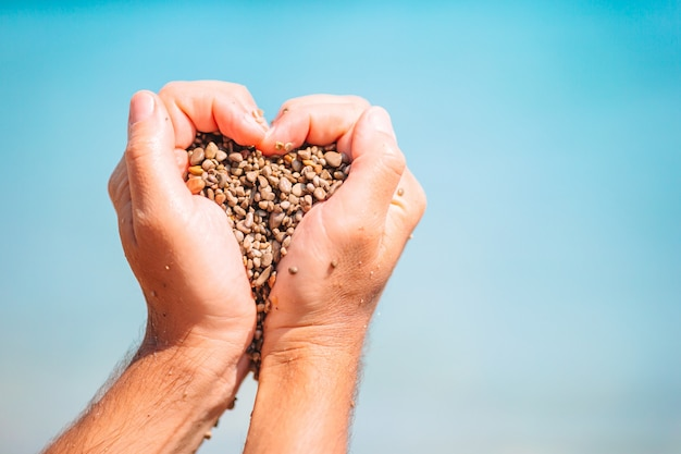 Bliska serce wykonane męskimi rękami