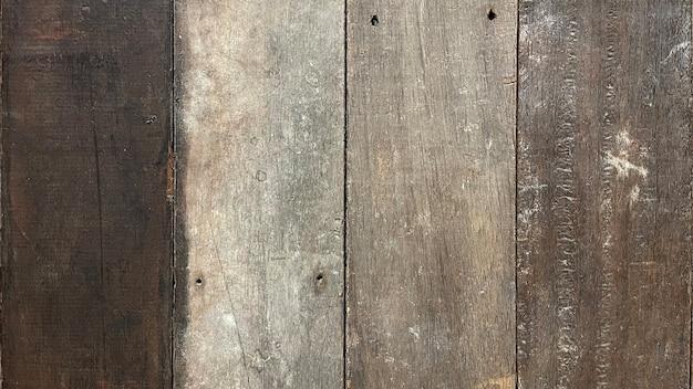 Bliska tekstura drewna na tle, styl vintage, drewniana powierzchnia z drewna tekowego z miejscem na kopię