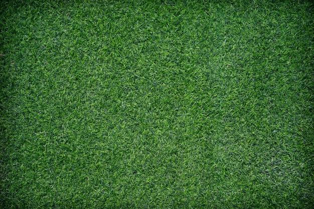 Bliska tekstury sztucznej trawy