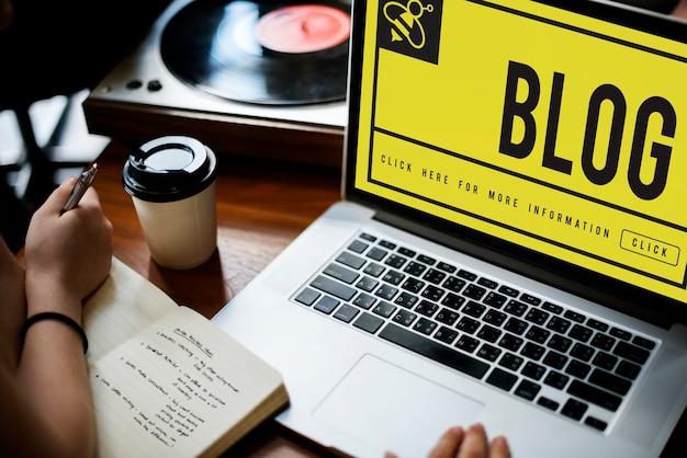 Blog internetowy