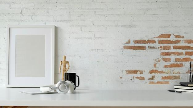 Blogger ramki roboczej makieta ramki z kopią