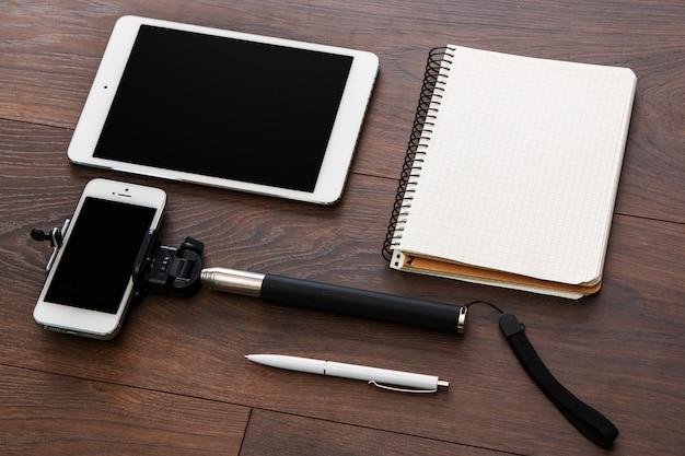 Blogger w miejscu pracy
