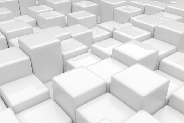 Bloki o różnych wysokościach