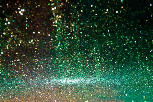 Błyskotliwość rocznika światła. abstrakcjonistyczny złoto. wspaniałe światła brokatu.
