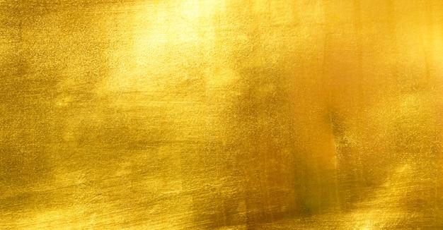 Błyszcząca żółta liść złota folia