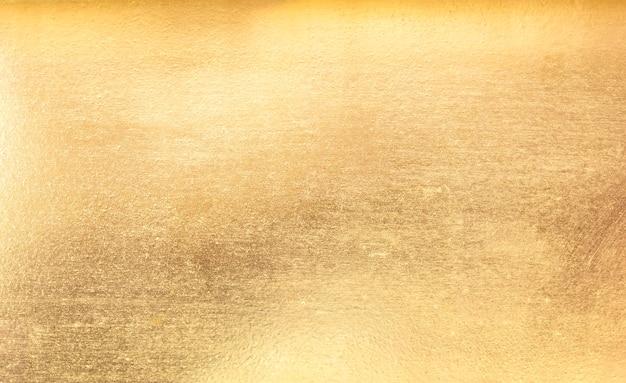 Błyszcząca żółta liść złota foliowa tekstura