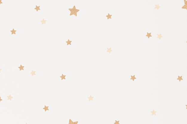 Błyszczące złote gwiazdy tła dla dzieci