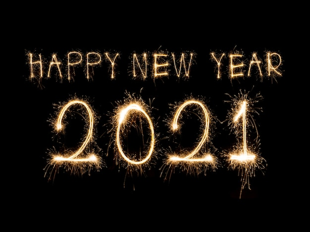 Błyszczący nowy rok 2021