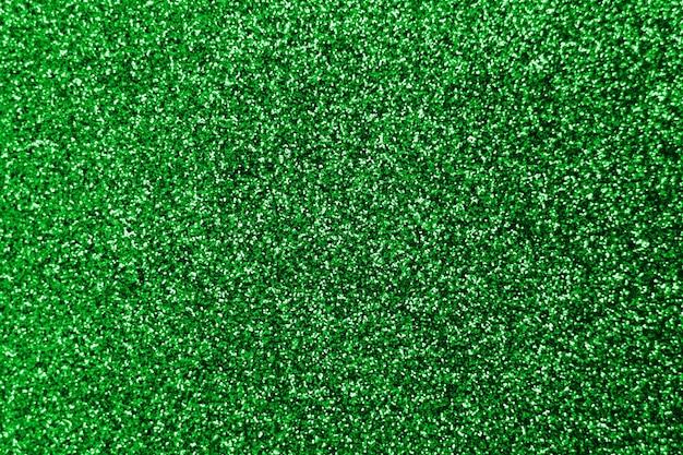 Błyszczący odblask i flary na modnym zielonym szmaragdowym połysku
