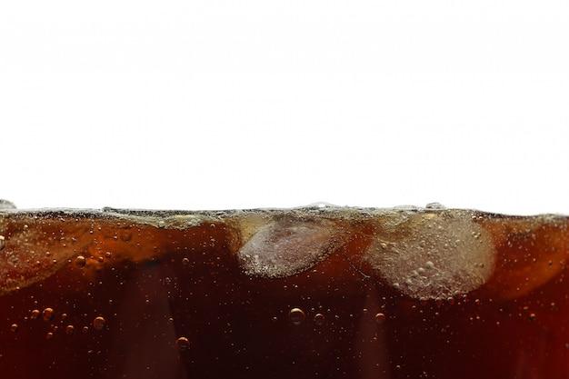 Bocznego widoku tło zimna kola z lodem, odosobniona