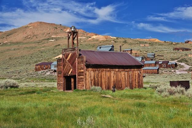 Bodie jest opuszczonym miastem poszukiwaczy złota