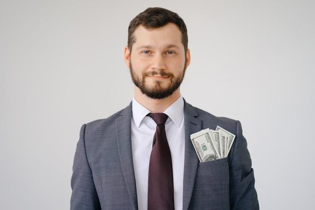 Bogaty, szefowy facet