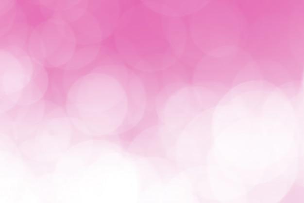 Bokeh delikatny różowy musujący romantyczny