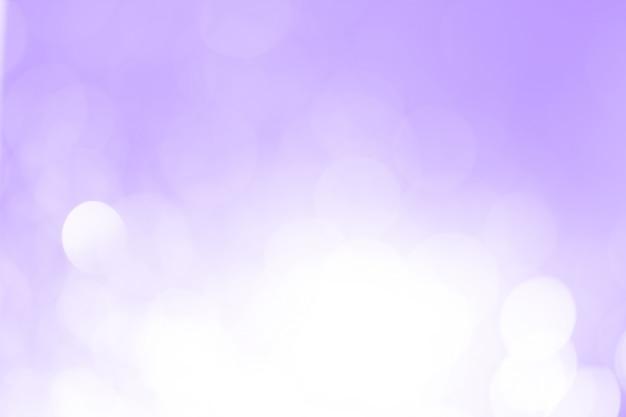 Bokeh pastelowe fioletowe tło