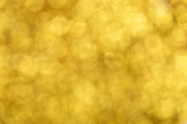 Bokeh światła złota błyszczy