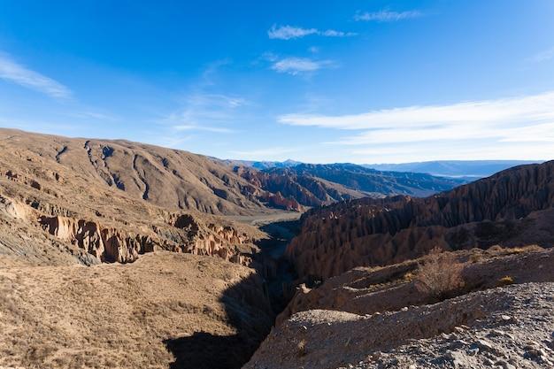 Boliwijski kanion w pobliżu tupiza