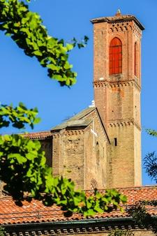Bolonia włochy piękna architektura centrum bolonii