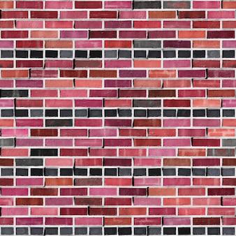 Bond czerwona cegła kwadrat bezszwowa tekstura