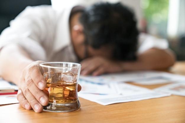 Booze pijany w pracy