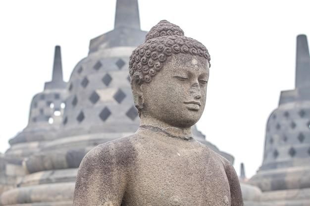 Borobudur świątynia, yogyakarta, jawa wyspa, indonezja