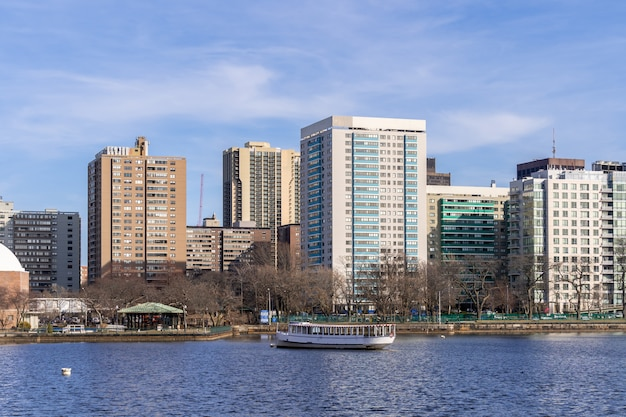 Boston downtown