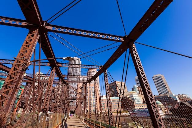 Boston północny aleja most w massachusetts