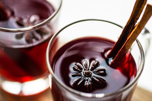 Boże narodzenie grzane wino